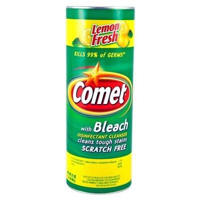 098006 Comet Powdered Cleanser W Lemon Fresh Scent 400 G 24