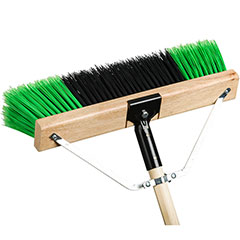"M2 24"" RYNO PUSH BROOM - COMPLETE (4/package) - F5801"