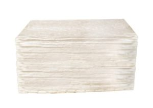 "82000 15"" x 18"" OIL ONLY HEAVY-WEIGHT ABSORBENT PAD - White, 100/bag - F5976"