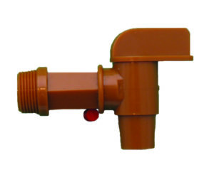 "3/4"" FLO RITE TAP FOR 20L CUBE - G10232"