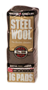 0000 STEEL WOOL - 16 pads/bag - G10572