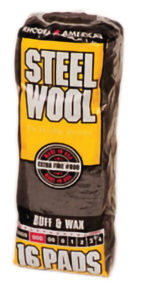 000 STEEL WOOL - 16 pads/bag - G10573