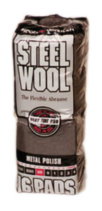00 STEEL WOOL - 16 pads/bag - G10574