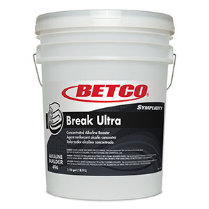 BETCO SYMPLICITY BREAK ULTRA 110 ALKALINE BUILDER - 18,9L   ***DG*** - G3101