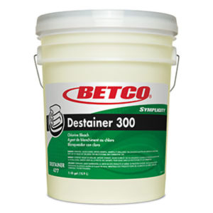 BETCO SYMPLICITY DESTAINER 300 LAUNDRY BLEACH - 18,9L   ***DG*** - G3106