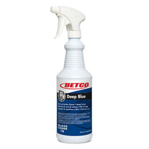 BETCO DEEP BLUE GLASS CLEANER RTU w/TRIGGER SPRAYER - 946mL, (12/case) - G3313