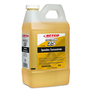 BETCO FASTDRAW 25 SPEEDEX CONCENTRATE CLEANER/DEGREASER - 2L, (4/case) - G3810