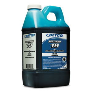 BETCO FASTDRAW 19 GREEN EARTH GLASS CLEANER - 2L, (4/case) - G3822