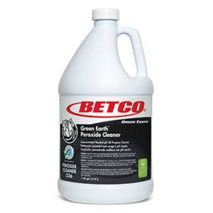 BETCO GREEN EARTH PEROXIDE CLEANER - 4L, (4/case) - G3840
