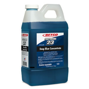BETCO FASTDRAW 23 DEEP BLUE AMMONIATED GLASS CLEANER - 2L (4/case) - G3842