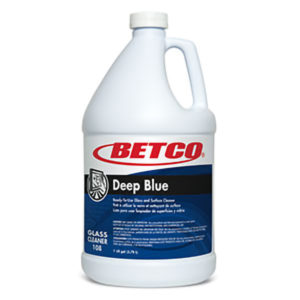 BETCO DEEP BLUE GLASS CLEANER RTU - 4L, (4/case) - G3862