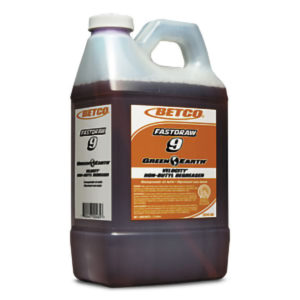 BETCO FASTDRAW 9 GREEN EARTH VELOCITY NEUTRAL NON-BUTYL DEGREASER - 2L (4/case) - G3866