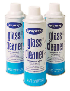 SW050W SPRAYWAY GLASS CLEANER AEROSOL - 539 g (12/case) - G7004