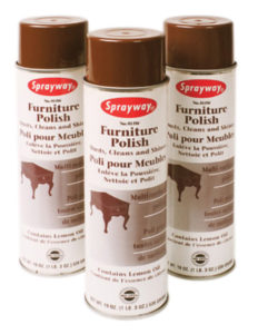 SW811 SPRAYWAY FURNITURE POLISH AEROSOL - 539 g (12/case) - G7005