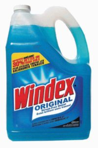 006722 WINDEX GLASS CLEANER - 5 L (4/case) - G7017