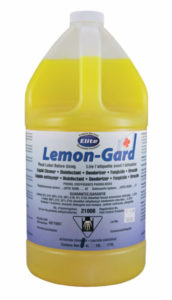 LEMON GARD HD GERMICIDAL HARD SURFACE CLEANER - 3,78 L (4/case) - G7322