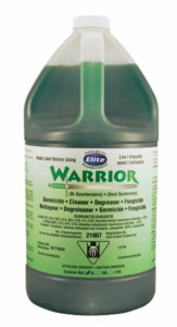 WARRIOR FUNGICIDE DISINFECTANT CLEANER - 3,78 L (4/case) - G7342
