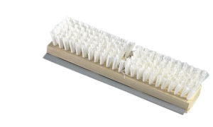 "11"" UTILITY DECK SCRUB BRUSH w/SQUEEGEE - HEAD (20/case) - G7550"