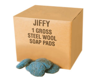 ISP44 STEEL WOOL SOAP PADS - 144/case - G7579
