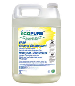 AVMOR ECOPURE EP50 MULTI-USE CLEANER/DISINFECTANT - 4L (4/case) - G7806
