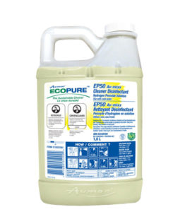 AVMOR ECOPURE EP50 MULTI-USE CLEANER/DISINFECTANT - 1,8L, (4/case) - G7808