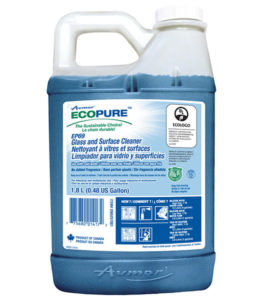AVMOR ECOPURE EP69 GLASS & SURFACE CLEANER - 1,8L, (4/case) - G7932