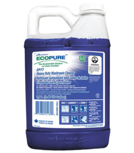AVMOR ECOPURE EP77 HEAVY DUTY WASHROOM CLEANER - 1,8L, (4/case) - G7934