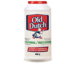 OLD DUTCH POWDERED CLEANSER - 400 g (12/case) - H1716