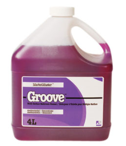 GROOVE WASHROOM CLEANER - 4L (4/case) - H1732