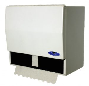 WHITE COMBINATION TOWEL DISPENSER - H1777