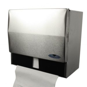 STAINLESS STEEL COMBINATION TOWEL DISPENSER - H1778