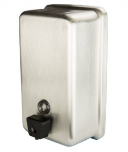 FROST STAINLESS STEEL VERTICAL SOAP DISPENSER - H1781