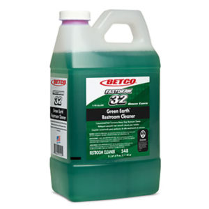 BETCO FASTDRAW 32 GREEN EART RESTROOM CLEANER - 2L (4/case) - H1946