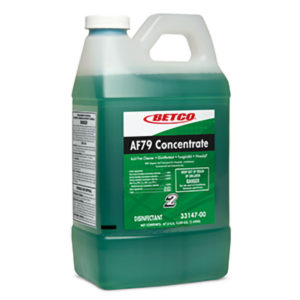 BETCO FASTDRAW 2 AF79 CONCENTRATE CLEANER/DISINFECTANT - 2L, (4/case) - H1950