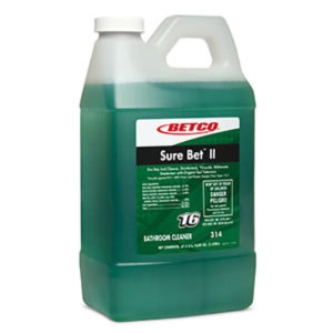 BETCO FASTDRAW 16 SURE BET II CLEANER/DISINFECTANT/DEODORIZER - 2L, (4/case) - H1952