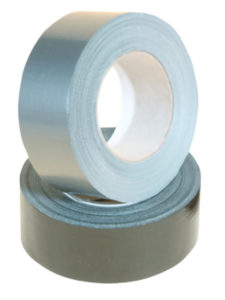 SILVER CLOTH DUCT TAPE 48mm x 55m - Roll (24/case) - M9405