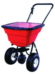 ESTATE SPREADER, PNEUMATIC TIRES - M9804