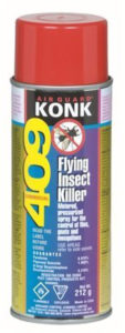 KONK BVT 409D FLYING INSECT KILLER AEROSOL .975% PYR - 212 g (12/case) - M9819
