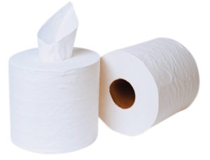 101328 PUR 1ply CENTER PULL TOWELS - 900'/roll, 6 rolls/case - P1452