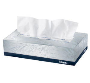 21400 KLEENEX 2 ply FACIAL TISSUE - 100 sheets/box, 36 boxes/case - P1685
