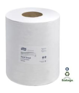 12 12 02 2ply TORK ADVANCED CENTREFEED TOWEL - 610 shts/roll, 6 rolls/case - P1906