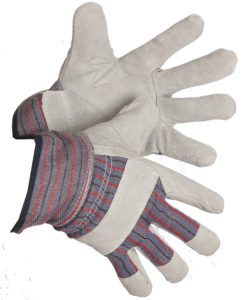 FORCEFIELD LADIES FLEECE LINED SPLIT COWHIDE FITTERS GLOVE (12 pairs/package) - S4001