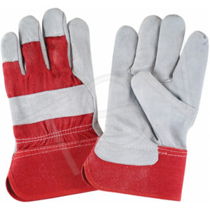 "PREMIUM FITTERS GLOVE w/ 2"" CUFF, RED - X-LARGE,  (12prs./pkg., 120prs./cs.) - S4006XL"