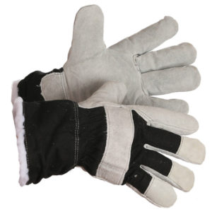 MEN'S SPLIT COWHIDE, WINTER FITTERS GLOVE, BOA PILE LINING (12 prs./pkg.) - S4007
