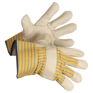 "FULL GRAIN COWHIDE FITTERS GLOVE w/2"" CUFF - X-LARGE (12pairs/package,120/case) - S4008XL"