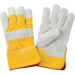 FORCEFIELD FOAM/FLEECE LINED, SPLIT COWHIDE GLOVE (12pair/pkg., 120prs/case) - S4011L