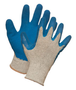 """GRIPS"" LATEX COATED KNIT GLOVE- MEDIUM, (10dz/case) - S4105"
