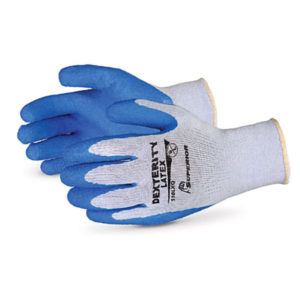DEXTERITY - LATEX COATED GLOVE - LARGE - S4112
