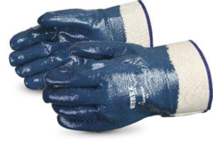 NITRILE FULLY COATED GLOVE w/SAFETY CUFF - S4153-F
