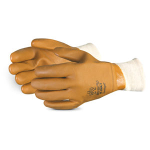 NORTH SEA PVC COATED WINTER GLOVE w/SAFETY CUFF - S4154